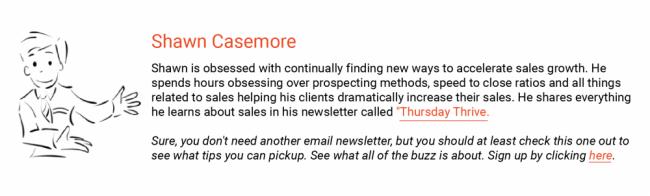 Thursday Thrive Newsletter