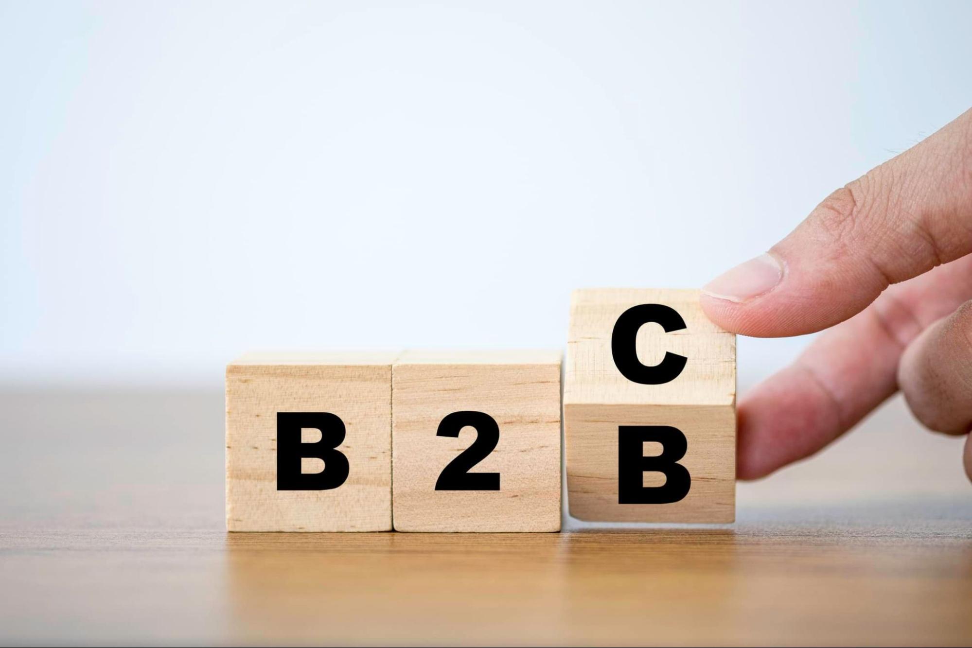 What is B2B Sales vs B2C